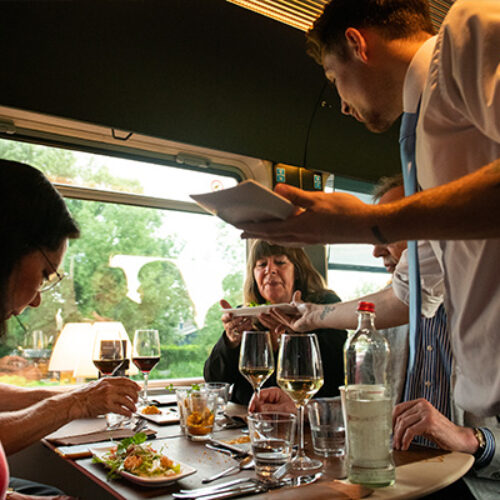 Dinner Train Sfeerbeelden